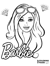 Babrie's portrait coloring books