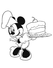 Minnie printable version
