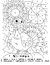 Stained style coloring sheet