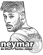 Small picture of Neymar's face