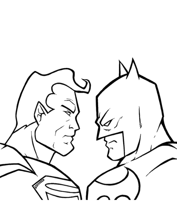 Superman Colouring Pages 30 To Print And Color For Free