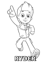 Paw Patrol Coloring Pages Print Free Pictures For