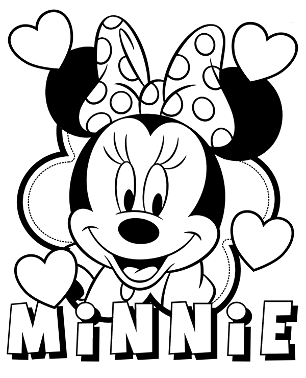 Minnie Mouse printable picture