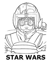 Star Wars image to print and color