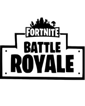 Fortnite Battle Royale coloring page to print