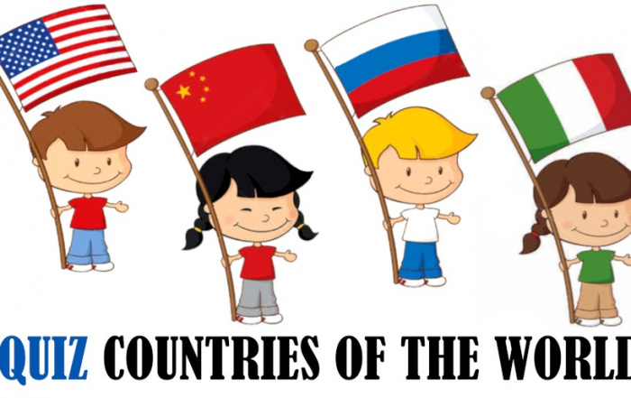 Quiz for kids - countries of the world