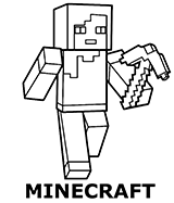 Minecraft coloring pages category
